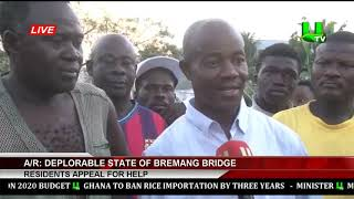 Deplorable State Of Bremang Bridge  - Residents Appeal For Help