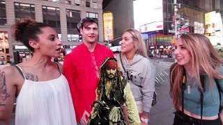 Captain JACKED Sparrow Picks Up Girls!