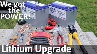 Lithium Battery Install - Battle Born Batteries - Full Time RV