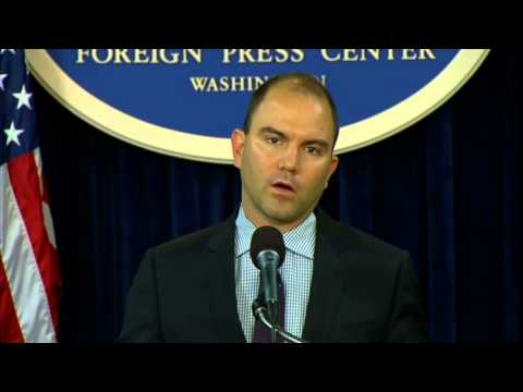 Deputy National Security Advisor Rhodes Gives an Update Following the President