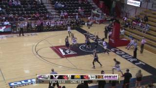 Highlights of Eastern Women's Basketball against Northern Colorado ( Feb. 11).