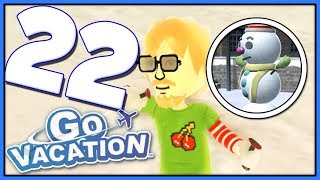 Go Vacation Part 22 Ski Moguling THE LAST STAMP! (Nintendo Switch)