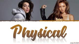 Download lagu DUA LIPA, HWASA - 'PHYSICAL' Lyrics [Color Coded_Han_Rom_Eng]