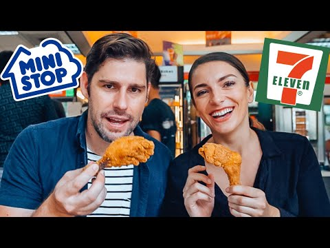 filipino-fried-chicken:-ministop-vs-7eleven---foreigners-taste-test