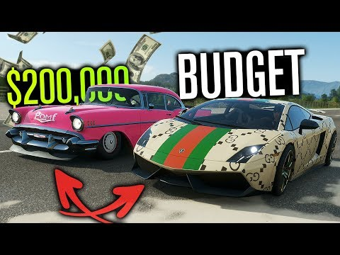$200,000 Budget TWIST Builds in Forza Horizon 4!? thumbnail