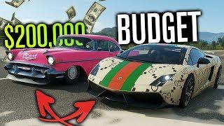 $200,000 Budget TWIST Builds in Forza Horizon 4!?