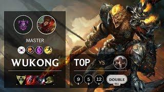 Wukong Top vs Sett - KR Master Patch 10.6