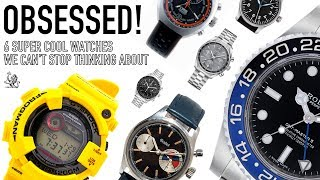 6 Super Cool Watches We're Obsessed With & Why - G-Shock, Rolex, Gallet, Oris, Omega, Stowa (WWT#85)