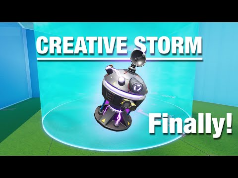 *NEW* STORM CONTROLLER | Build Your Own Storm On Fortnite Creative