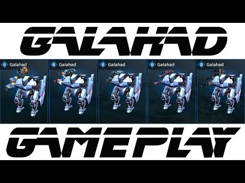 War Robots Galahad Gameplay Part 1