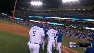 4/29/17: Dodgers walk-off following wild 9th inning