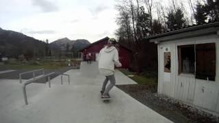 Tonton Margelle Skate School , Skate trip , Skatepark de Saanen
