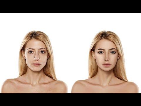 Обработка (ретушь) портрета в Adobe Photoshop. Новое лицо.