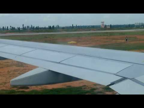 Aerial vision of Bangalore International Airport (with Music) (1080p HD)