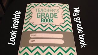 Grade Book Tour - See how I keep track of what we do!