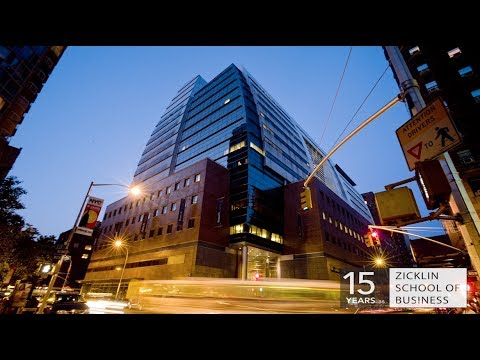 Celebrating 15 Years as the Zicklin School of Business - YouTube