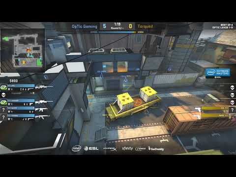 OpTic Vs Torqued IEM Oakland 2017 North America Open Qualifier - Map 2