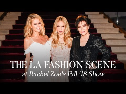 The Scene At Rachel Zoe S Fall 18 Show The Zoe Report By Rachel Zoe Youtube