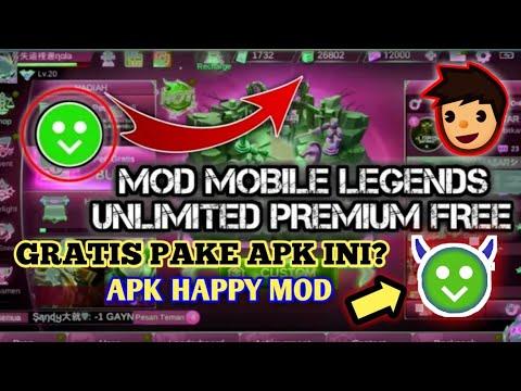 Mod Apk Mlbb Happy Mod No Root 100 Work Youtube