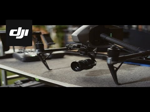DJI Inspire 2: Professional-grade aerial cinematography in an all-in-one, ready to fly package