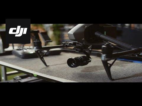 DJI – Inspire 2 – Behind the Scenes – X5S Camera