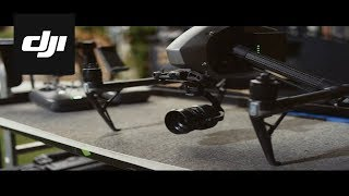 DJI – Inspire 2 – Behind the Scenes – X5S Camera