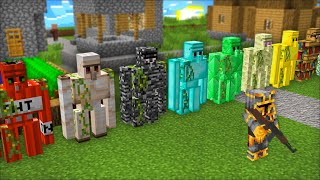 Minecraft BRAND *NEW* GOLEM PROTECT VILLAGE FROM ZOMBIE APOCALYPSE MOD !! SELLING !! Minecraft Mods