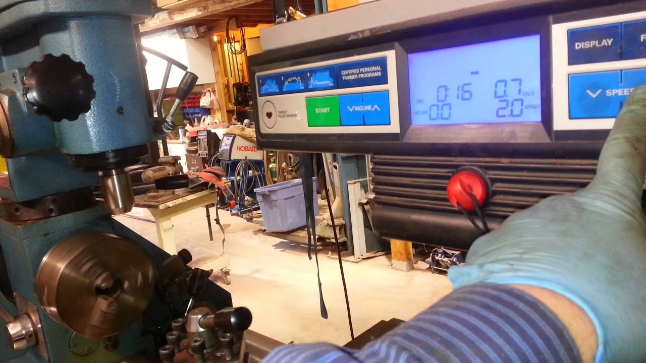 Smithy 3 In 1 Lathe Mill Variable Speed Treadmill Motor