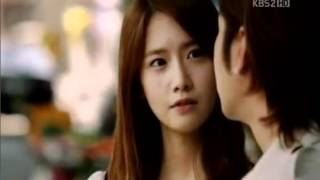 Love Rain ep 18 - Hana (Yoona) sweet kissing on Joon