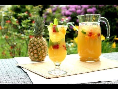 Ananas-Zitrus-Limonade / Pineapple-Citrus-Lemonade