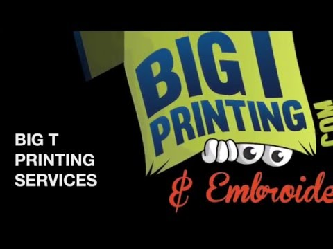 Embroidery - Signs - Banners - Screen Printing - Promo Products - T shirts - St. Petersburg, FL