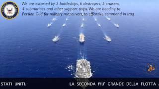 Disastrous collision avoided in Atlantic Ocean between U.S. Navy Fleet and Spanish A 853