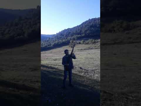 Üzümlü otomatik av tüfeği ile Ses fişeği  denemesi