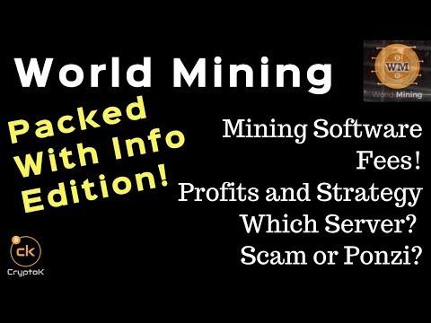 World Mining - My Profits, Strategy, CPU Mining, and Scam?