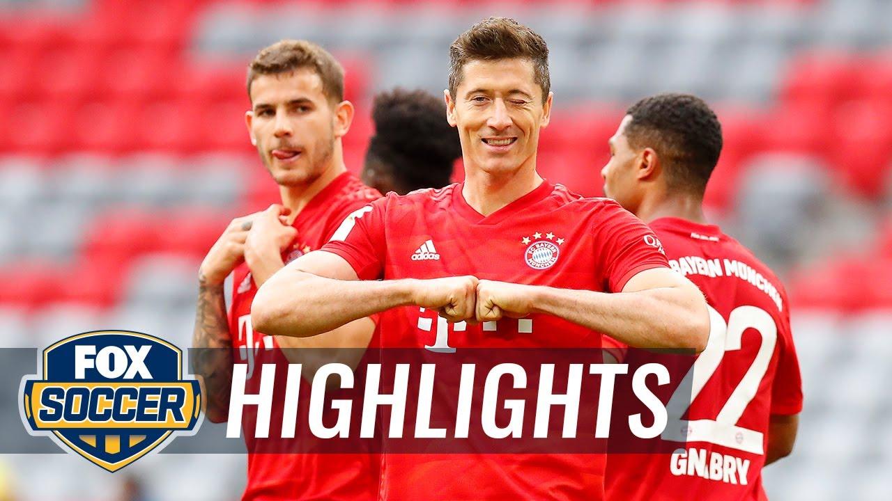 Bayern Munich 5 - 0 Fortuna Duesseldorf