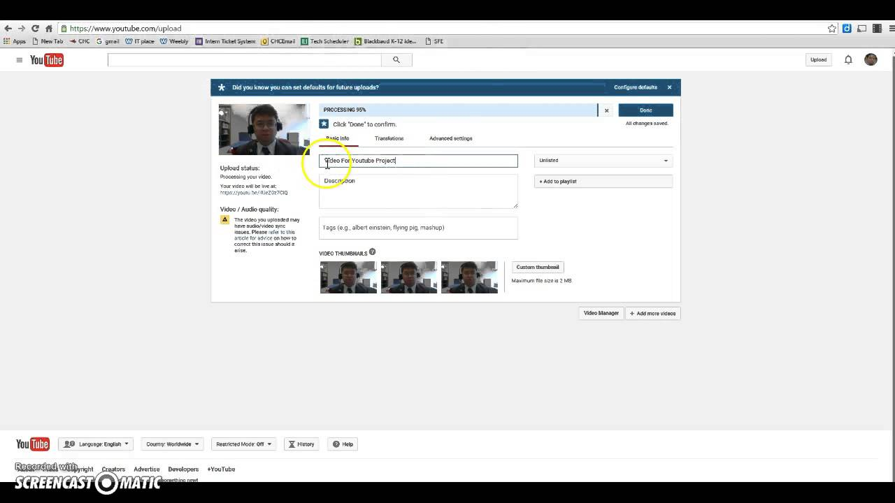 how to download youtube video from video manager