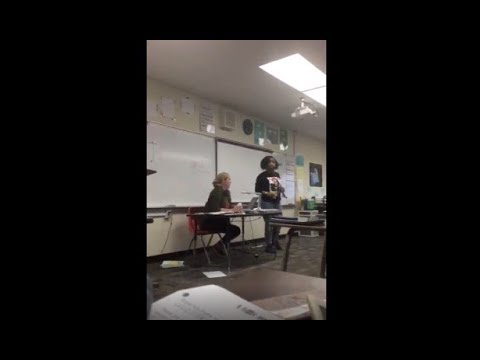 Crystal Rosas - Mom Interrupt's Daughter's Class at School to Confront her Bullies