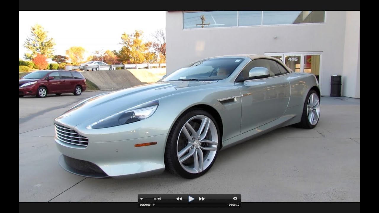 2012 aston martin virage volante start up exhaust and in depth tour youtube
