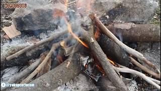 Bozkır Dipsizgöl'de Odun Ateşinde Melemen Yapımı Video - yakupcetincom
