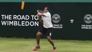 Road to Wimbledon India: Sanjana's pursuit