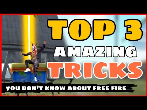 New Top 3 Amazing Tricks Free Fire -4G Gamers