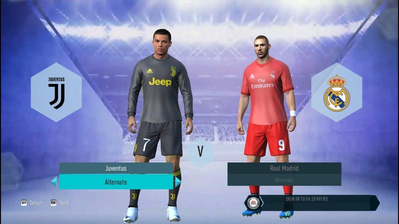 35da5524a99 FIFA 19 Full Kits   Texture for FIFA 14 - YouTube
