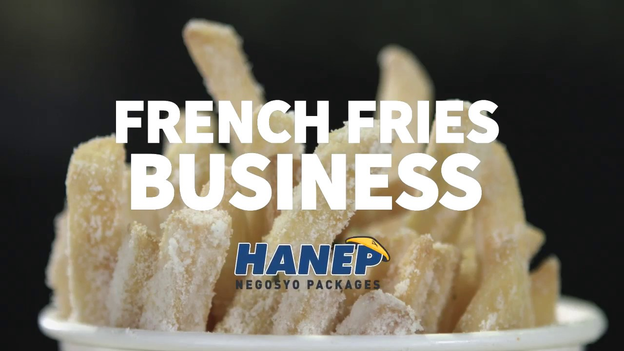 Hanep Negosyo French Fries Business BestValue Factory Food Outlet