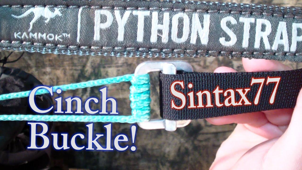 Python Straps Vs Cinch Buckles