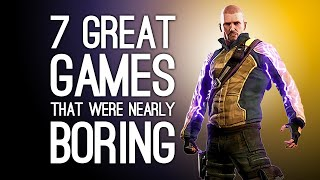 7 Great Games That Were Nearly Extremely Boring