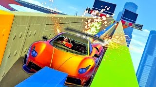 BELLY GRINDING SUPER CARS!! (GTA 5 Funny Moments & FAILS)