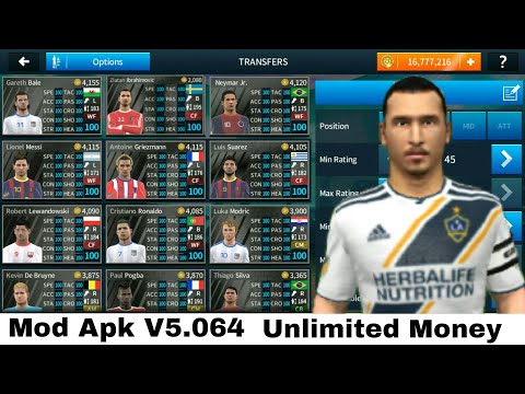 Download Dream League Soccer 2018 Mod Apk v5.064 | Unlimited Money & All Players Unlocked