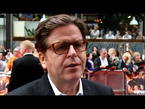 Simon West Interview - The Expendables 2 UK Premiere