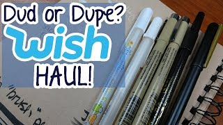 CHEAP ART SUPPLIES from WISH?!