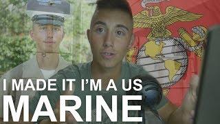 I made it, I'm a United States Marine!